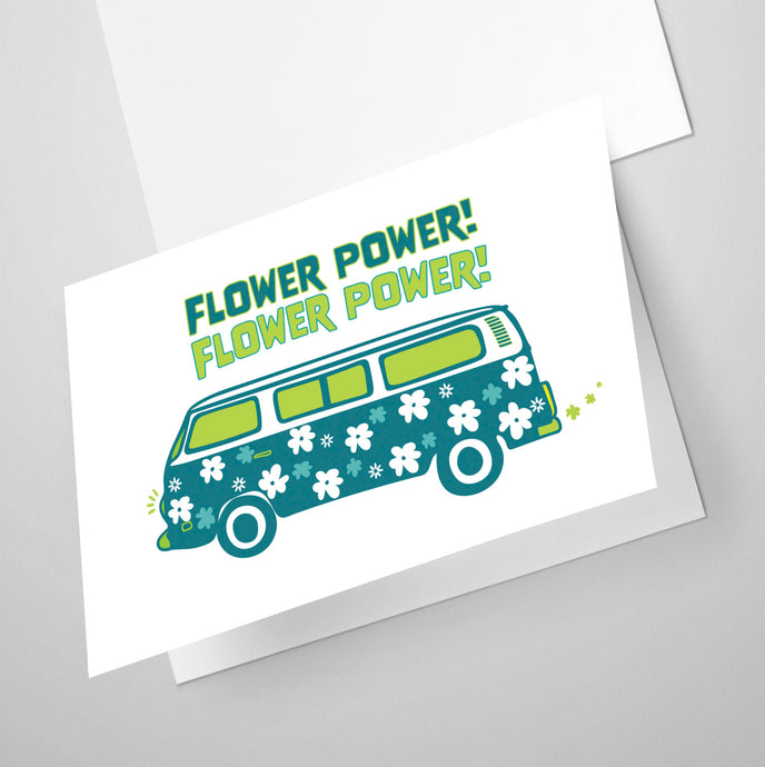 Flower Power | Whimsical Collection | Greeting Card