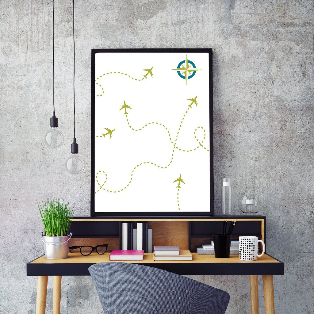 Where You Flying Today | Art Print