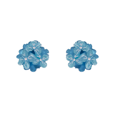 HEARTFELT HYDRANGEA EARRINGS