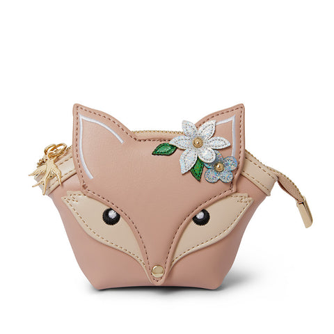 Flora Fox Face Coin Purse