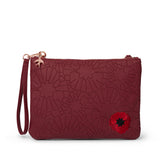 Poppy Field Clutch