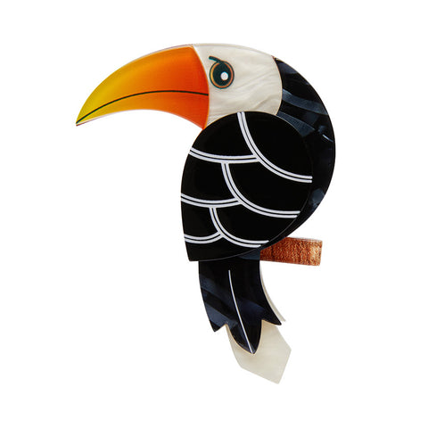 Terrence the Toucan Brooch