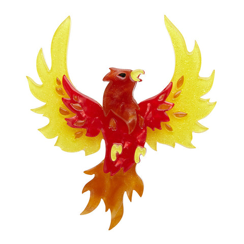 FIERY FAWKES BROOCH