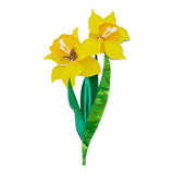 Gardon Goddess Daffodil Brooch
