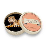 Hairy Hobbes Tiger Brooch