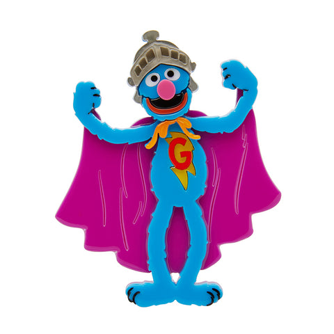 Super Grover Brooch
