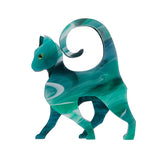 On the Prowl Cat Brooch