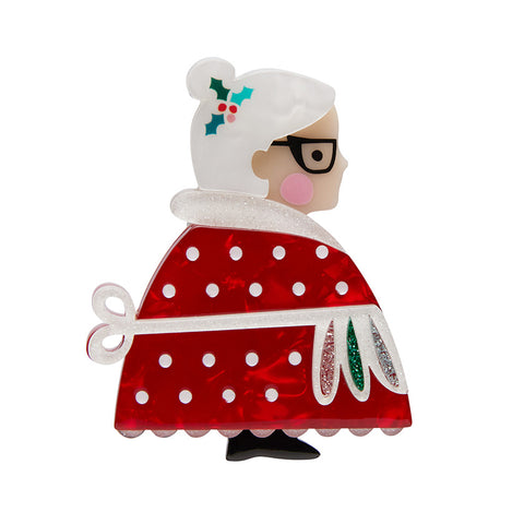 Mrs. Clause Brooch