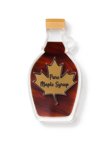 Maple Syrup Brooch