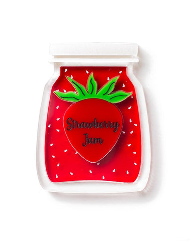 Strawberry Jam Brooch