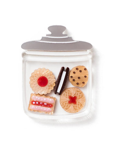 Biscuit Jar Brooch