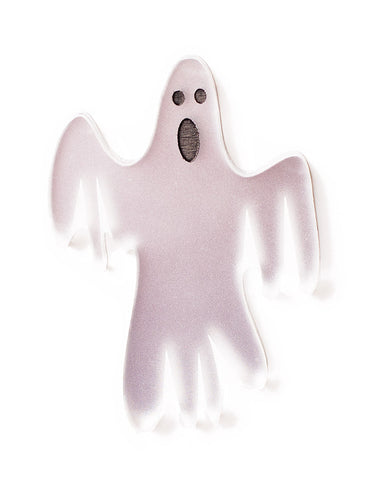 Halloween - VERY Scary Ghost Brooch - Mirror