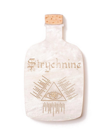 Apothecary - Strychnine Brooch