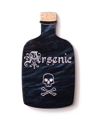 Apothecary - Arsenic Brooch