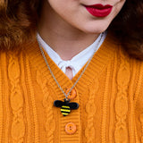 Babette Bee Pendant Necklace