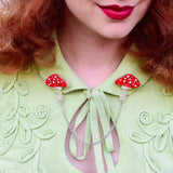 The Spore the Merrier Cardigan Brooches