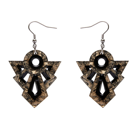 Modernist Motif Earrings