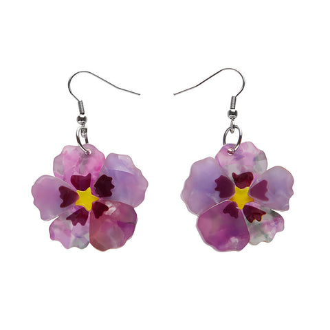 Purple Prose Earrings