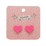 Essentials Heart Studs