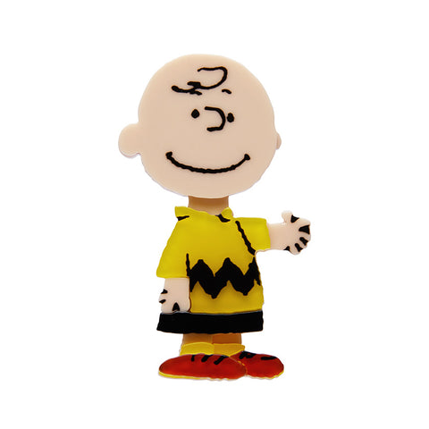 Charlie Brown Brooch