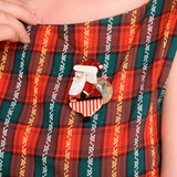 Santa Clause Brooch