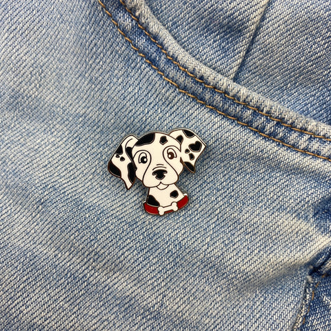 103rd Dalmation Enamel Pin