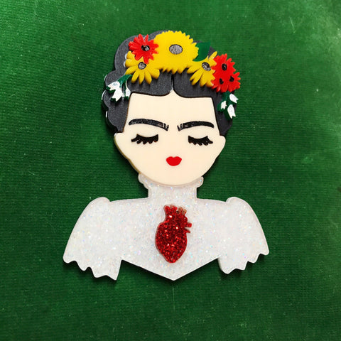 Between Tragedy And Ecstasy Special Edition Frida Necklace
