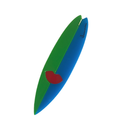 Surfboard Brooch