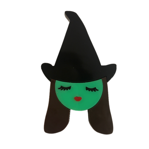 Bad Witch Brooch