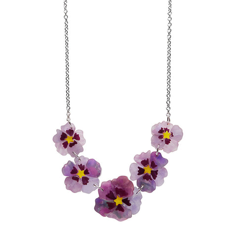 Purple Prose Necklace
