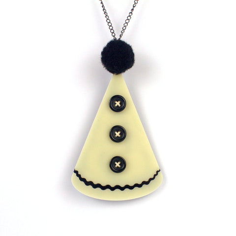 Clown Hat Necklace