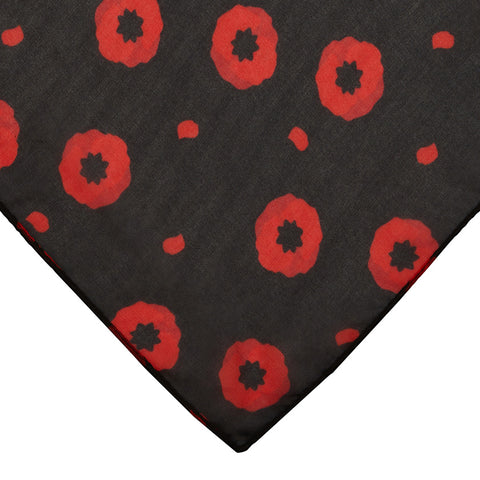 Poppy Field Large Neck Scarf