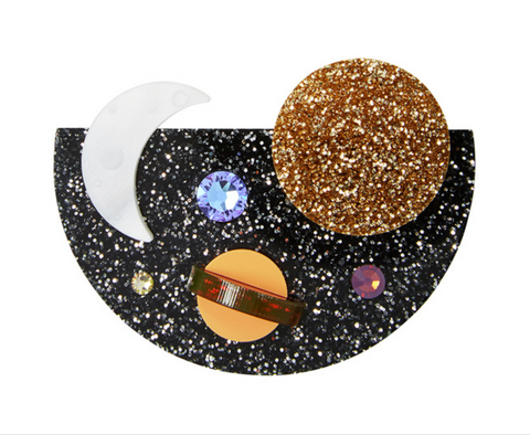 Galaxy Brooch