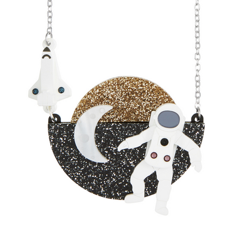 Astronaut Necklace
