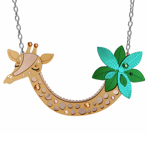 Giraffe Statement Necklace