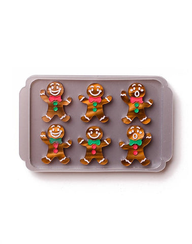 Freshly Baked Gingerbread Brooch