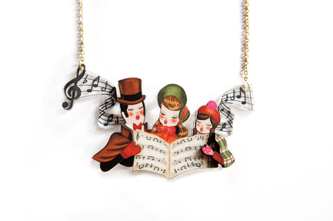 Christmas Carol Necklaces