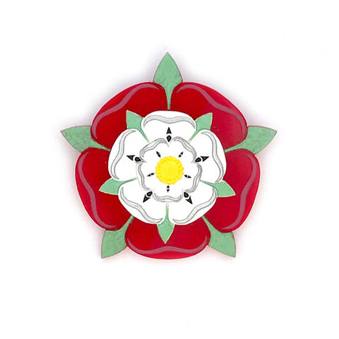 Mini Tudor Rose Brooch