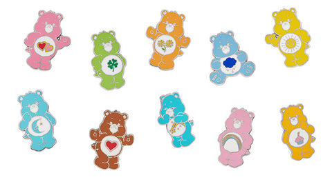 Set of 10 Care Bears Enamel Pins