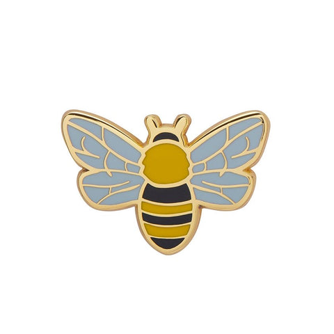 Harmonious Honey Bee Enamel Pin