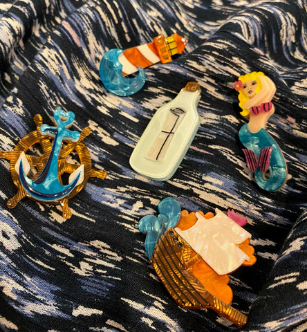 Set of 5 Nautical Minis