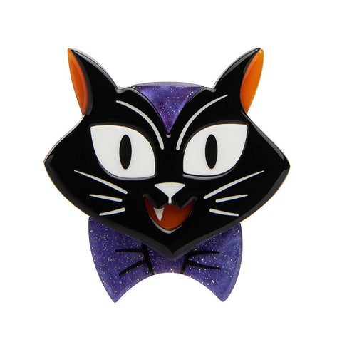 Cat Charming Brooch