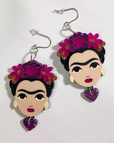 Winter Frida Drop Earrings