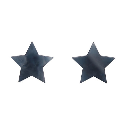 Essentials Star Stud Marble Blue/Grey