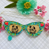 Cat Eye Sunglasses Necklace