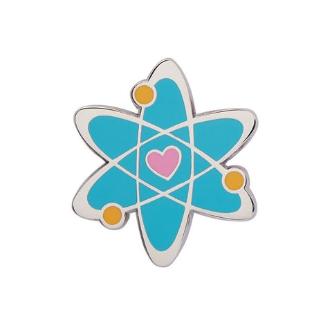 Adventurous Atom Enamel Pin