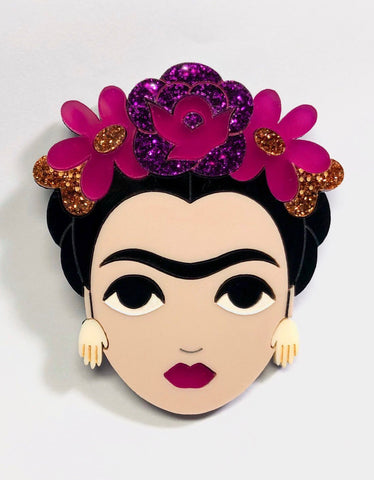 Winter Frida Brooch
