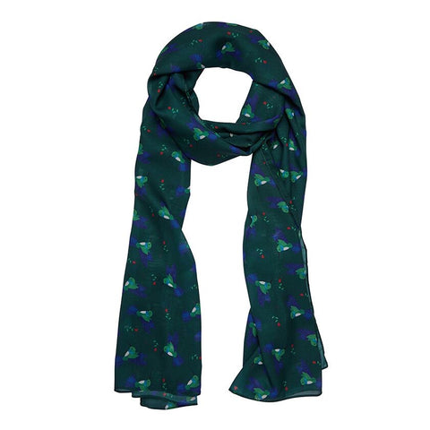 Hyacinth the Hummingbird Large Neck Scarf