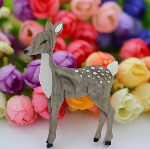 Darling doe brooch