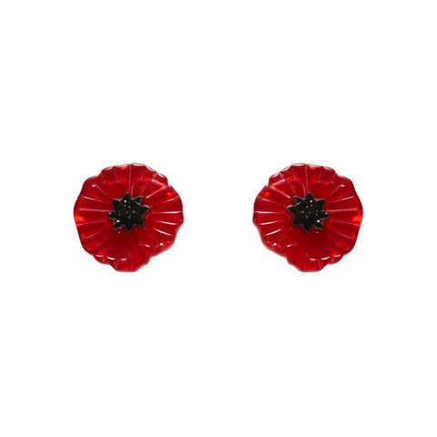 Poppy Field Earrings
